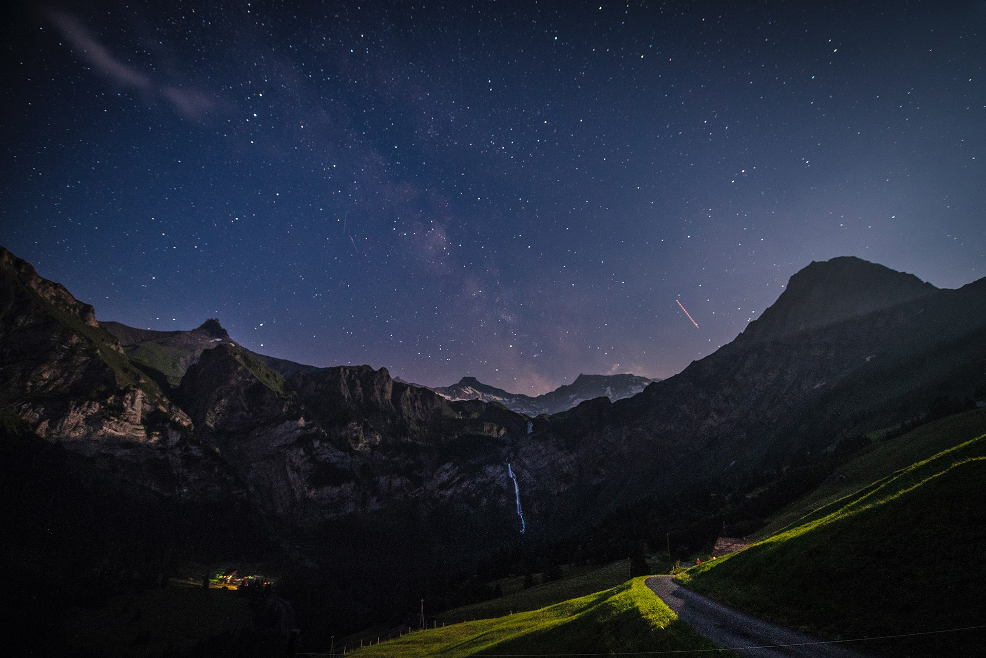 Blog Lifestyle - Le ciel étoilé d'Adelboden  - Suivre sa Joie - Saskia Parein