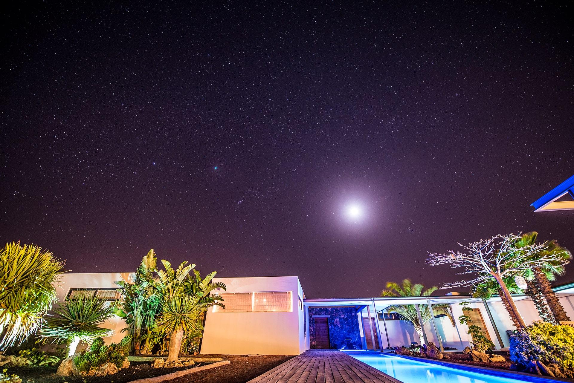 Blog Lifestyle - La villa sous un ciel étoilé - Suivre sa Joie - Saskia Parein