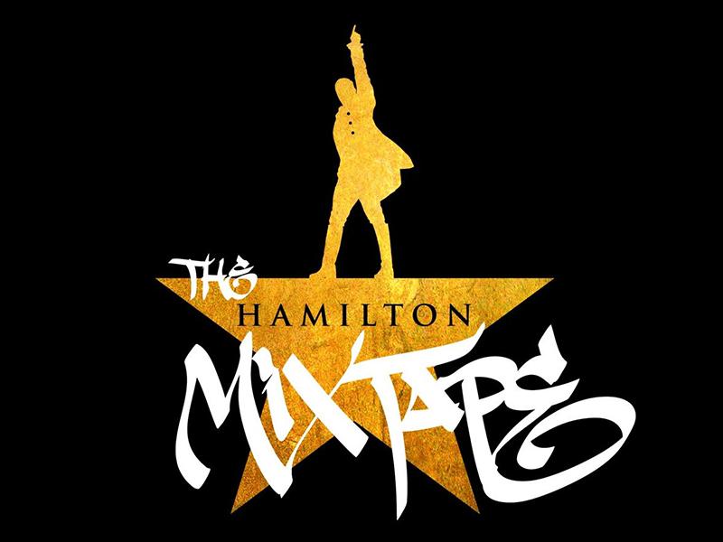 Logo of the Hamilton Mixtape album cover created by Edgardo Miranda-Rodriguez