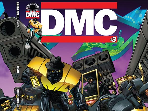 Cover artwork for Darryl McDaniels DMC graphic novel