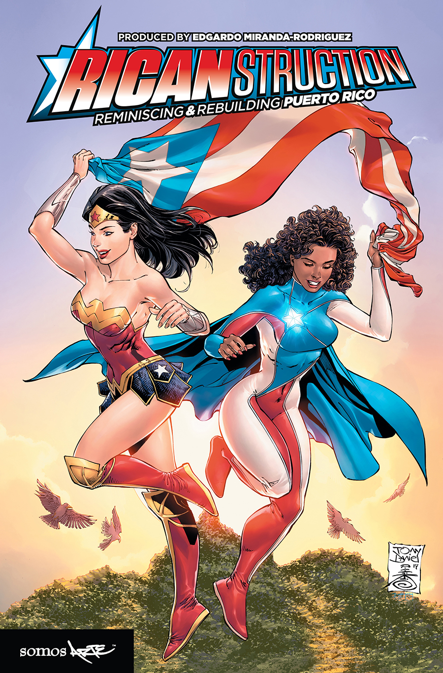 Image for Graphic Novel Ricanstruction: Reminiscing & Rebuilding Puerto Rico Cover
