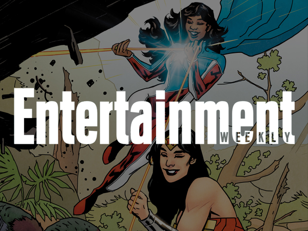 Cover image of La Borinqueña in Entertainment Weekly magazine online