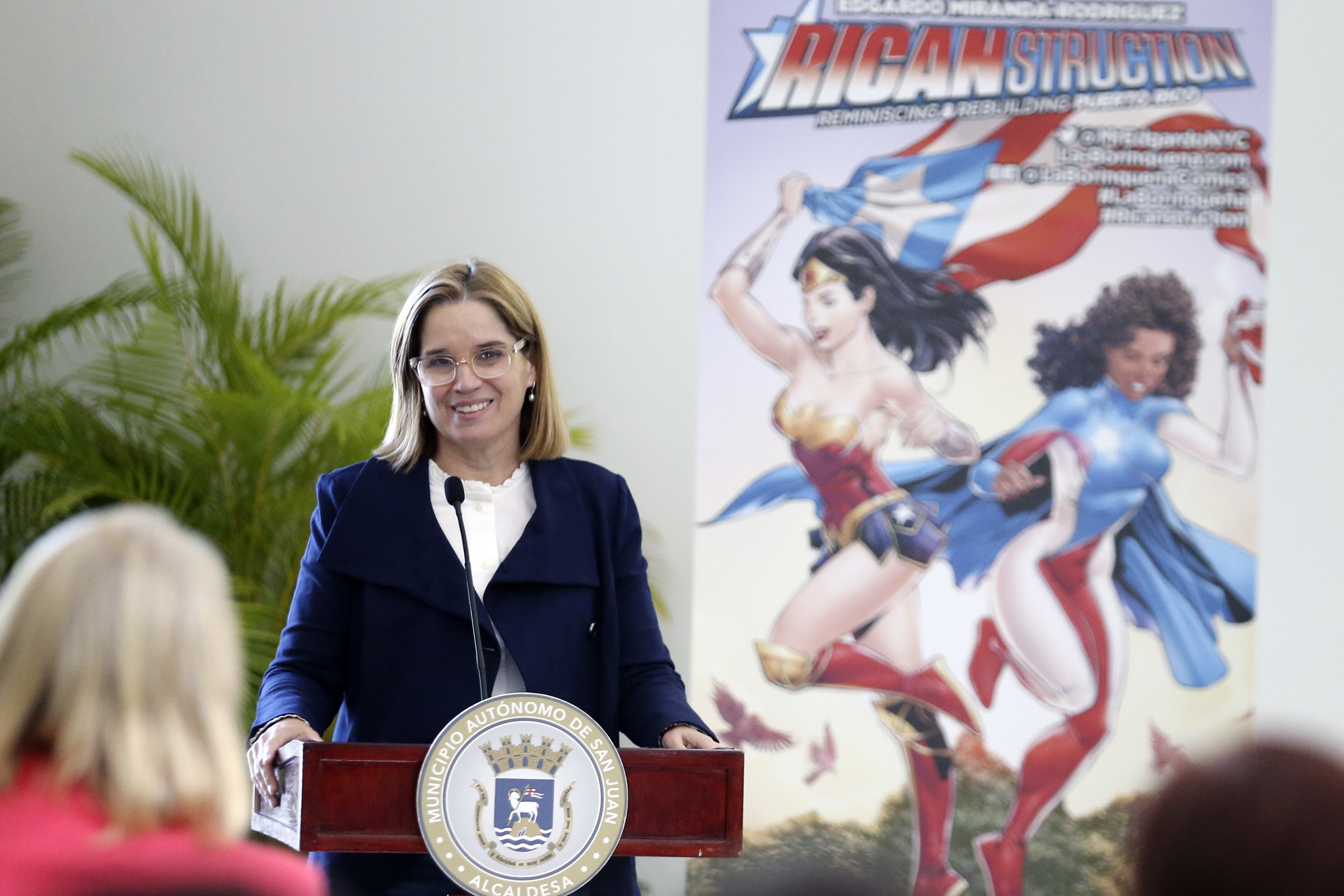 Mayor Carmen Yulín Cruz delivers an inspiring keynote speech