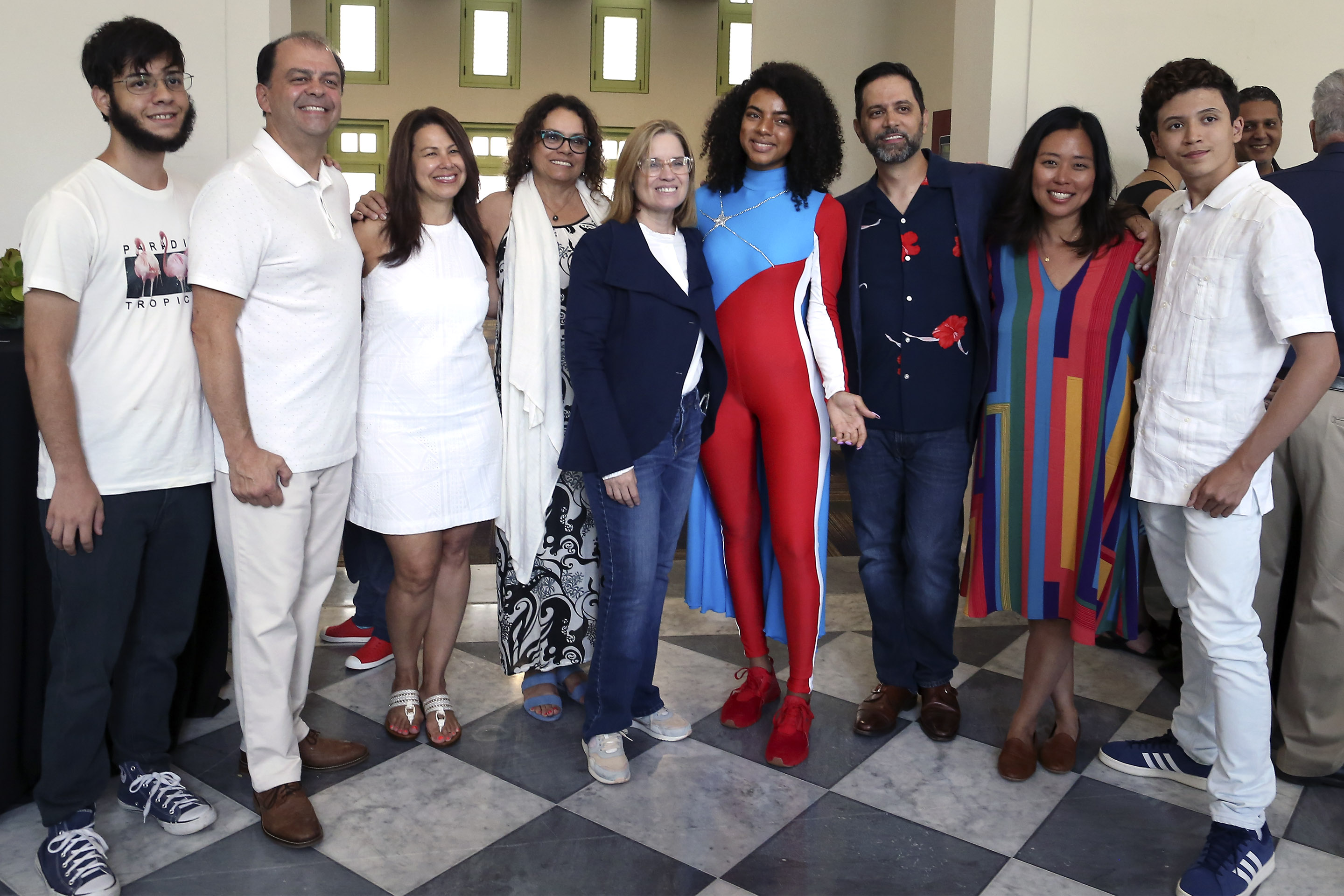 Mayor Carmen Yulín Cruz, La Borinqueña, Grants Committee and family