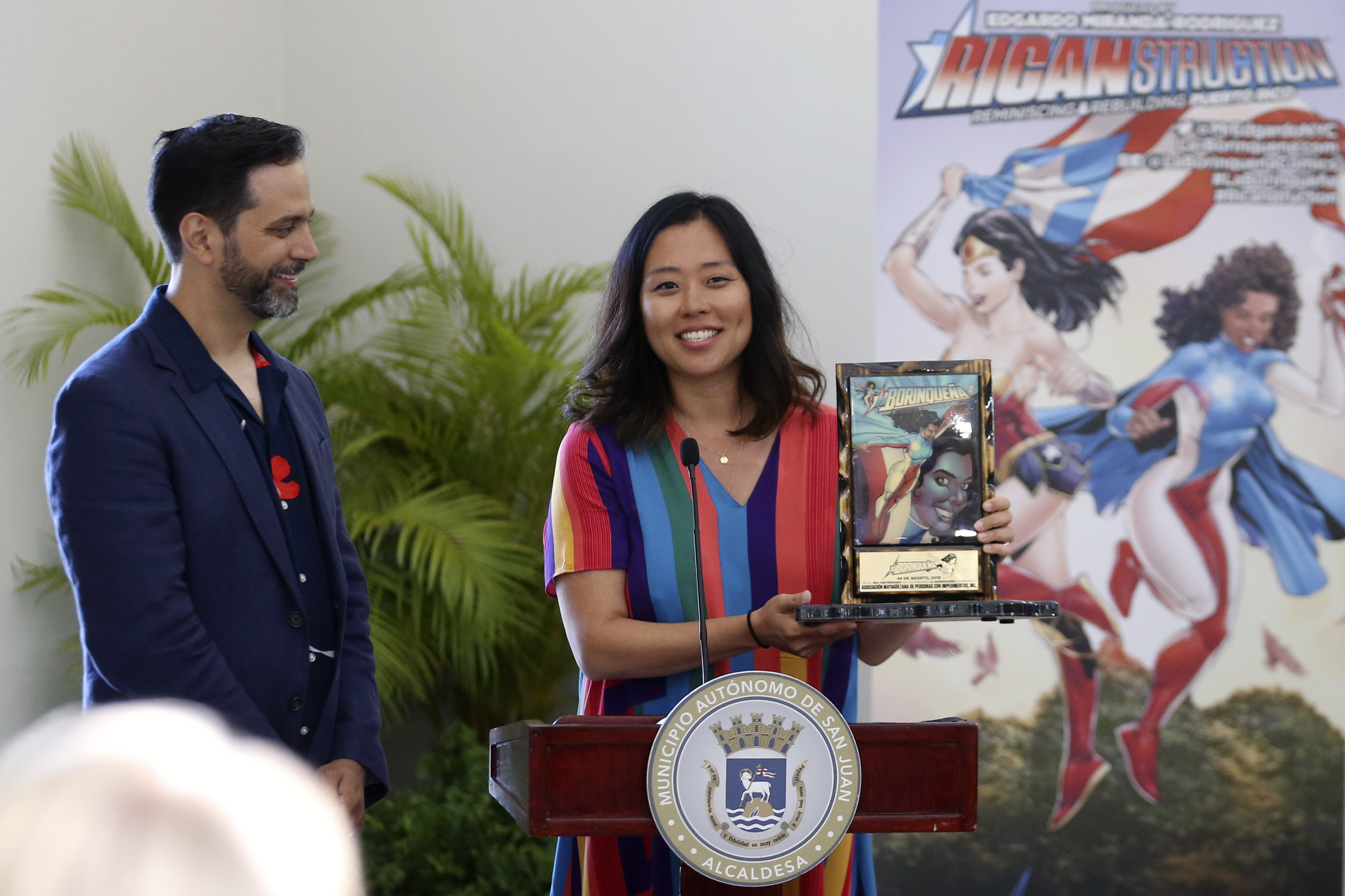 Kyung Jeon-Miranda presents the 2019 La Borinqueña Grant