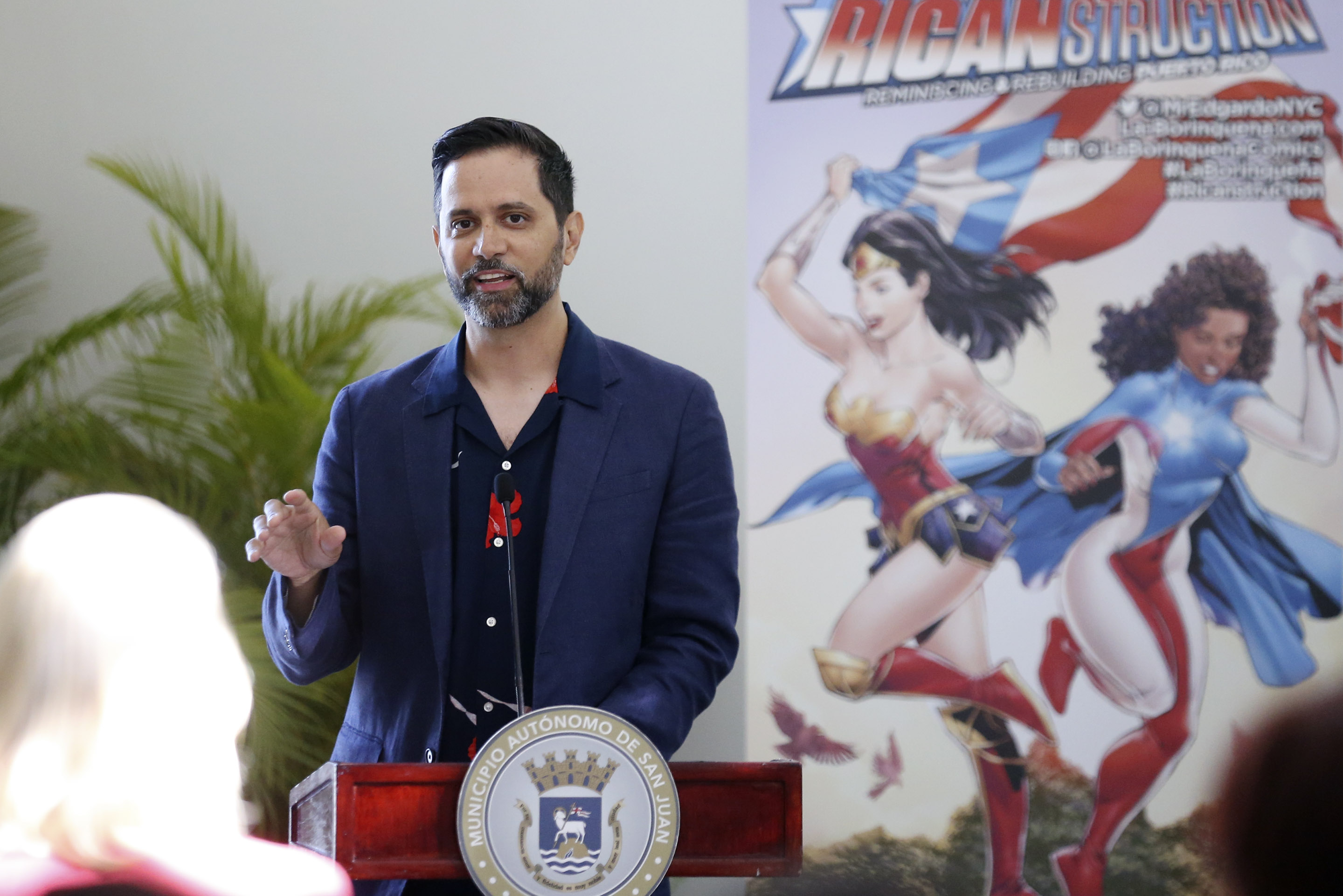 Edgardo Miranda-Rodriguez presents the 2019 La Borinqueña Grant Awards.