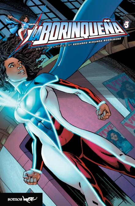 Image Cover for La Borinqueña Issue #3 Superhero