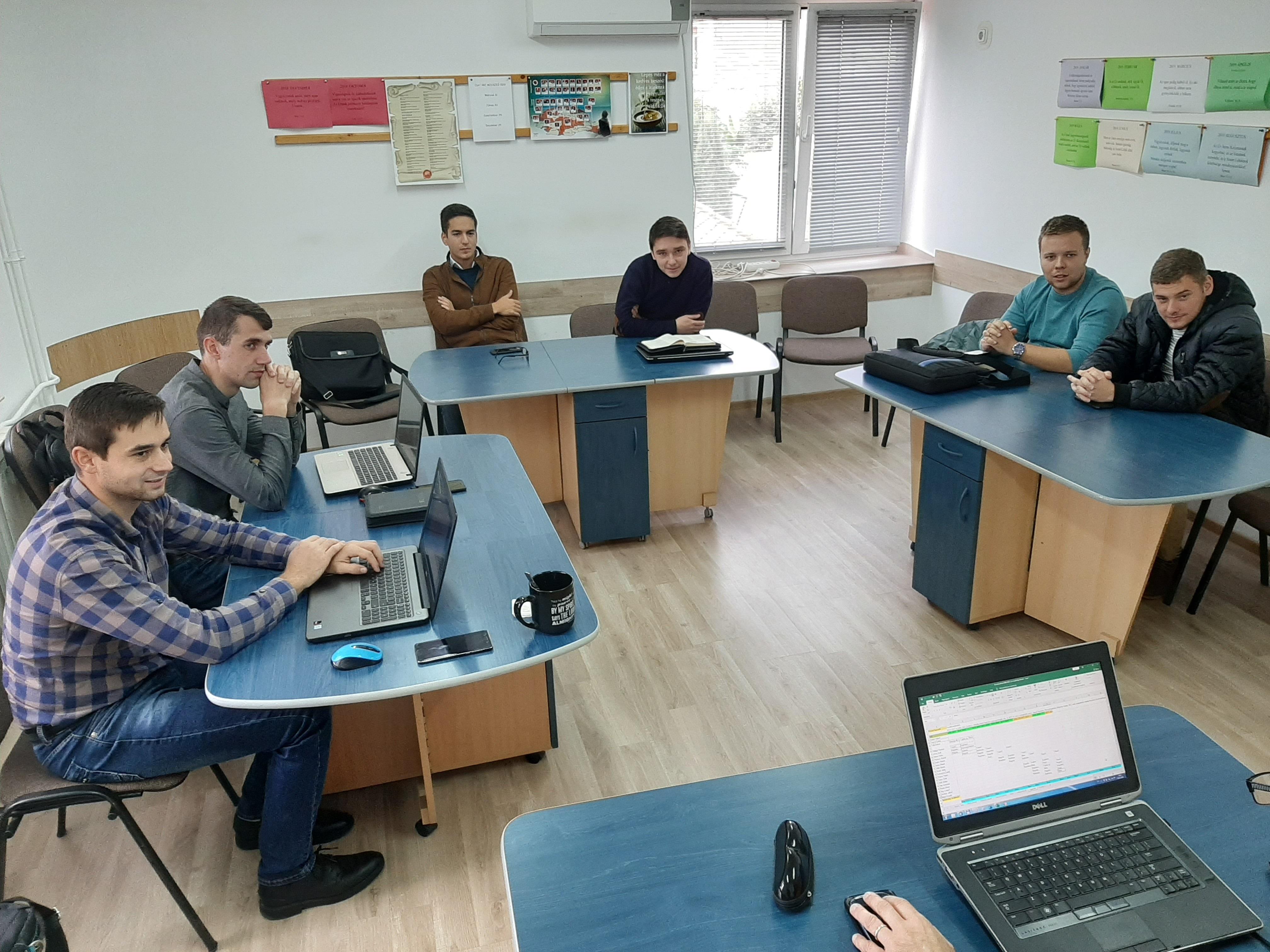 Hungarian Seminary Students, Oradea