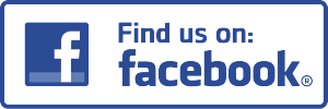 Find us on Facebook logo.