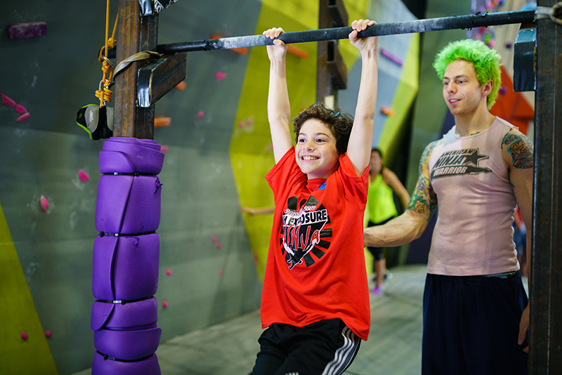 High Exposure Rock Climbing / Ninja Warrior Gym in Bergen County NJ