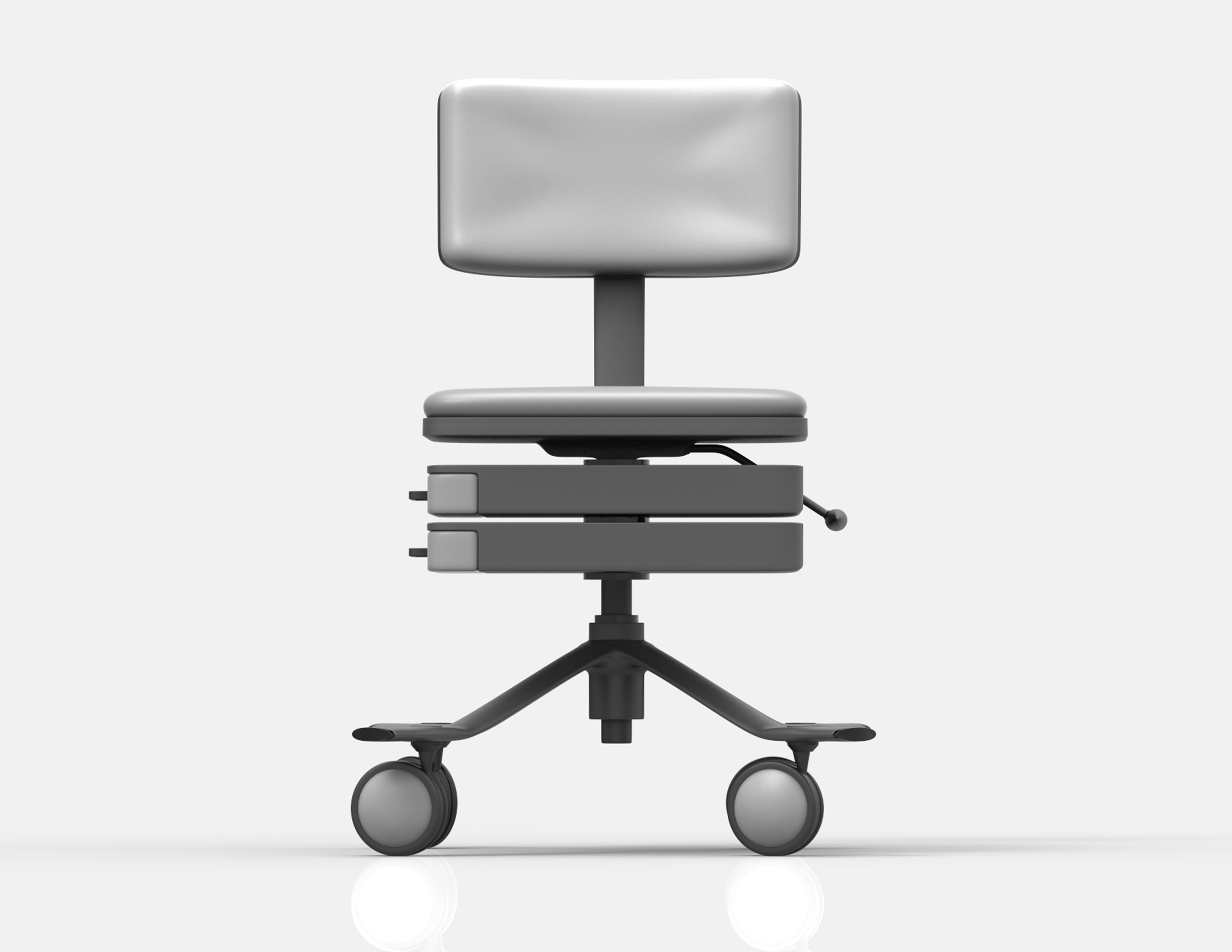 doctor chair medical design furniture arvid roach hospital future ergonomics industrial ID product comfort back innovative
