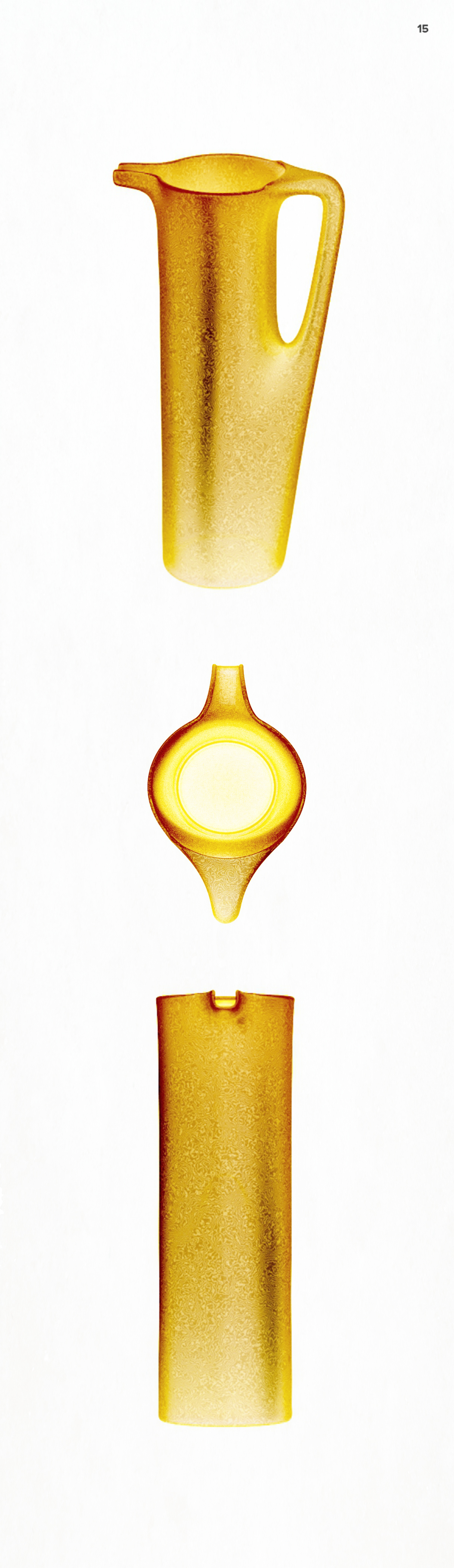 citrine glass pitcher product design