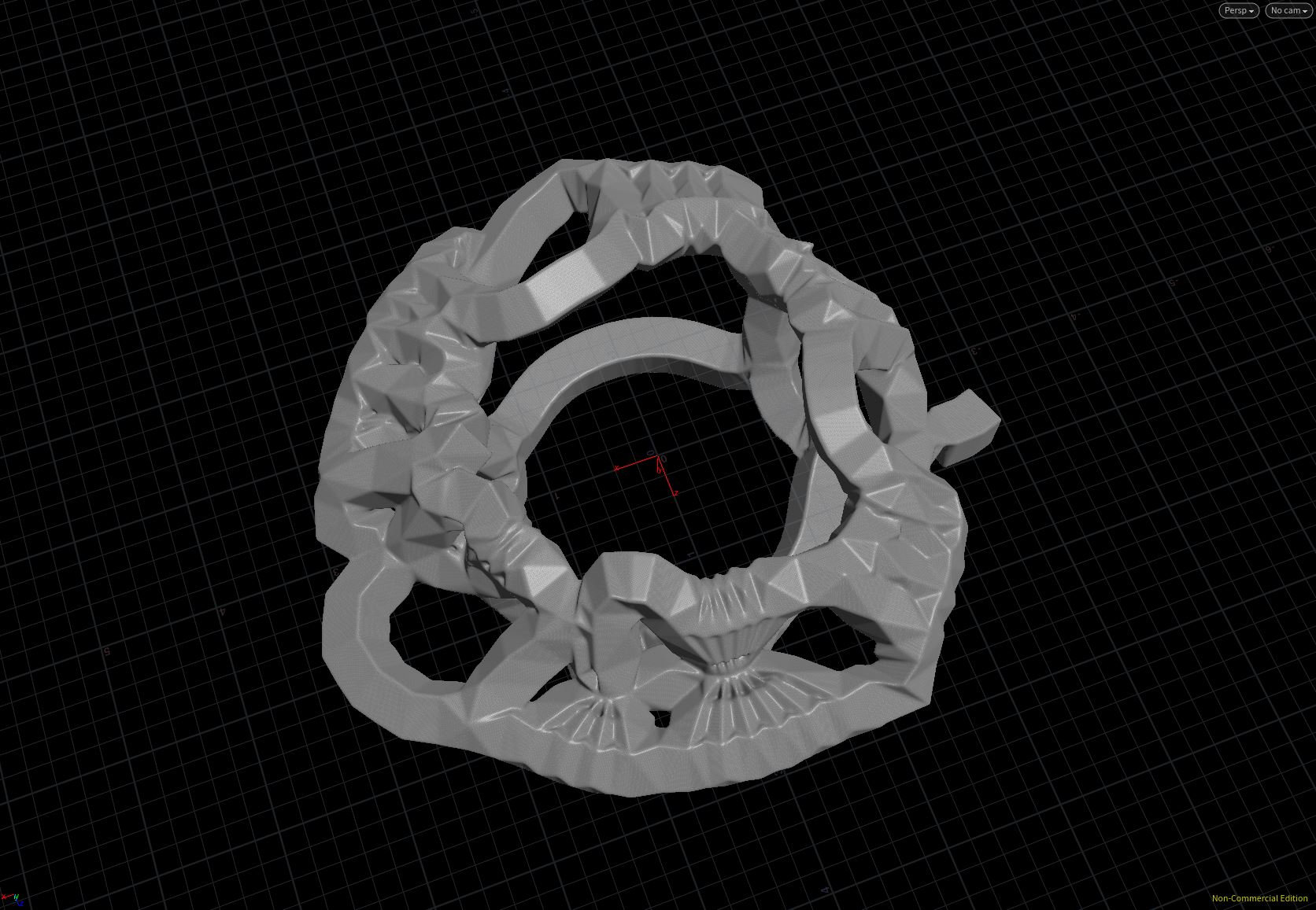 houdini procedural modeling veins generative process