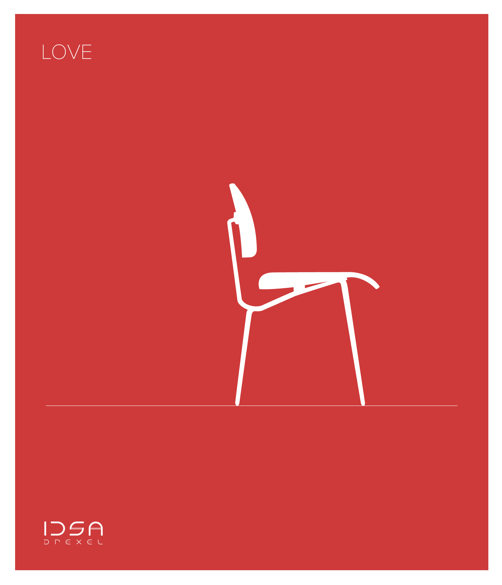 IDSA branding student chapter graphic design arvid minimalist branding eames rams iconic