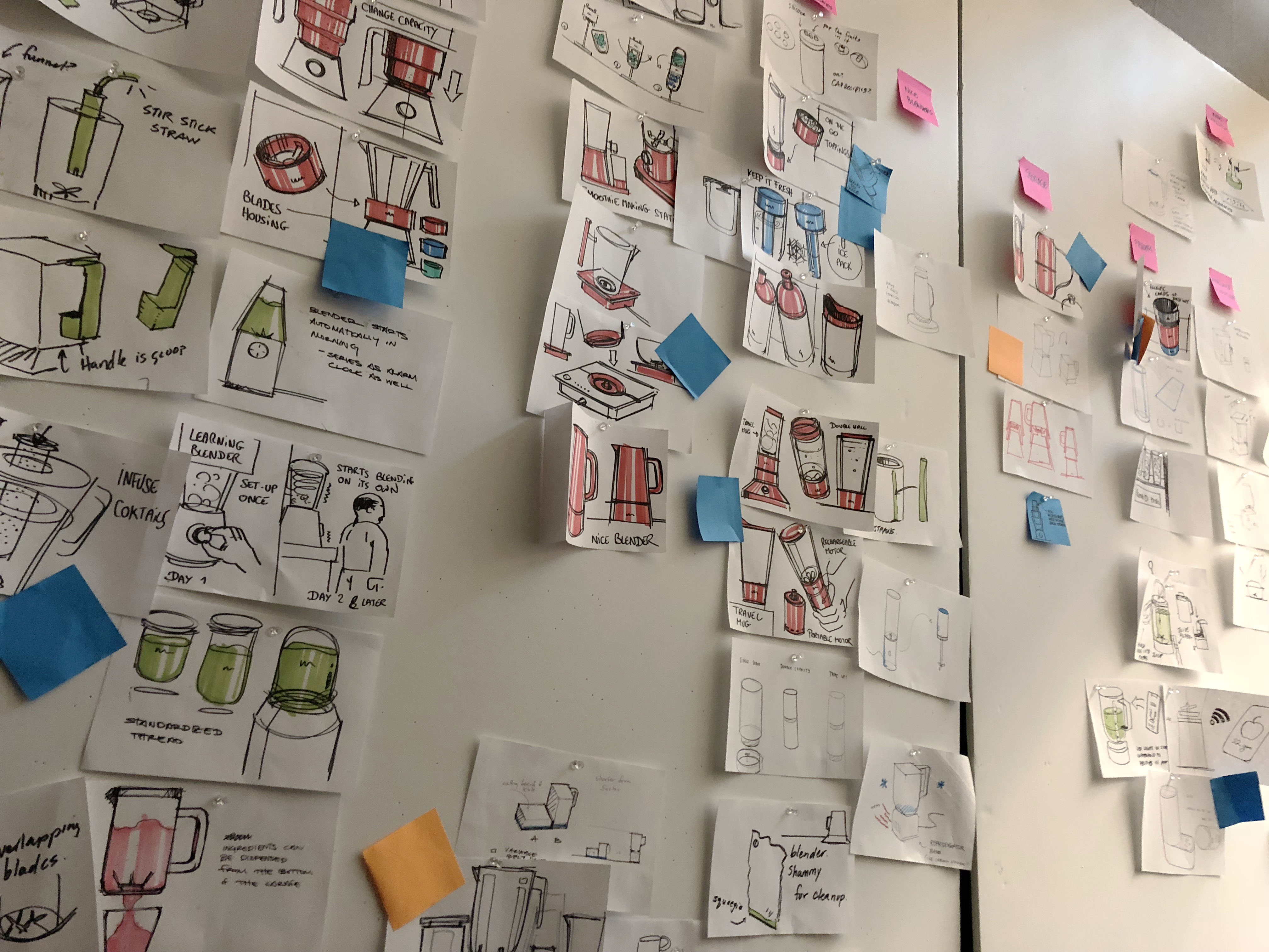 sketch thinking design thinking white board rapid develop process design marker idea post it note ideation industrial design outline process organize