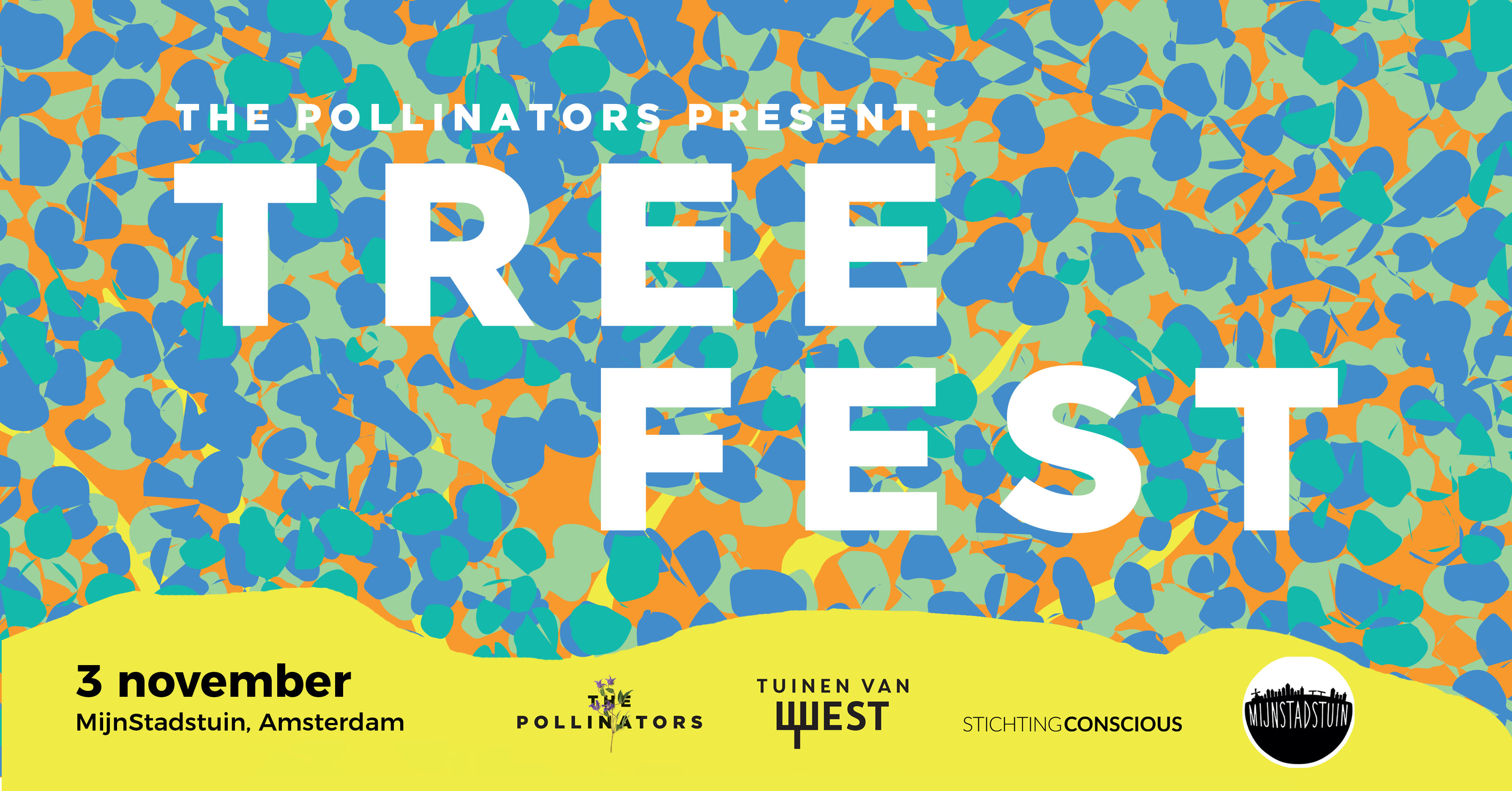 De Tuinen Van West Amsterdam.Tree Fest The Pollinators