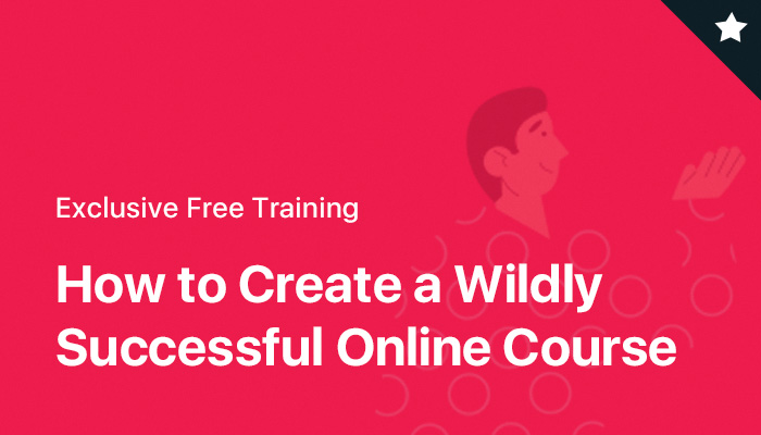 Free training on how to create a profitable online course