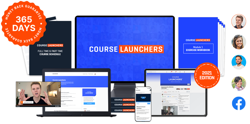Course Launchers Product Display
