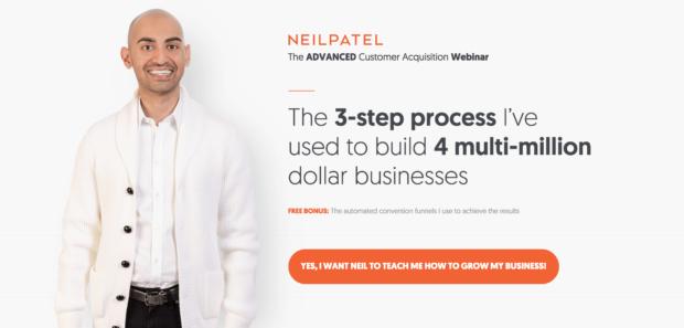 Neil Patel lead magnet