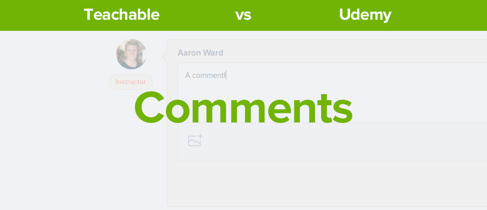 Teachable vs Udemy comments banner