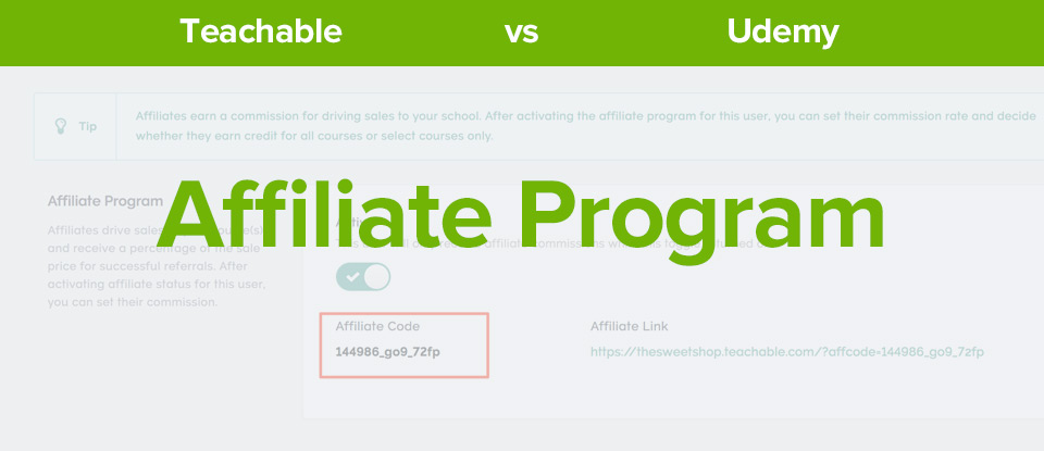 Teachable Vs Udemy Affiliate Program banner