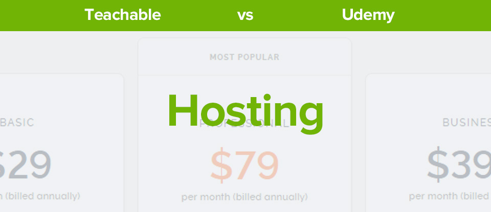 Teachable Vs Udemy Hosting banner