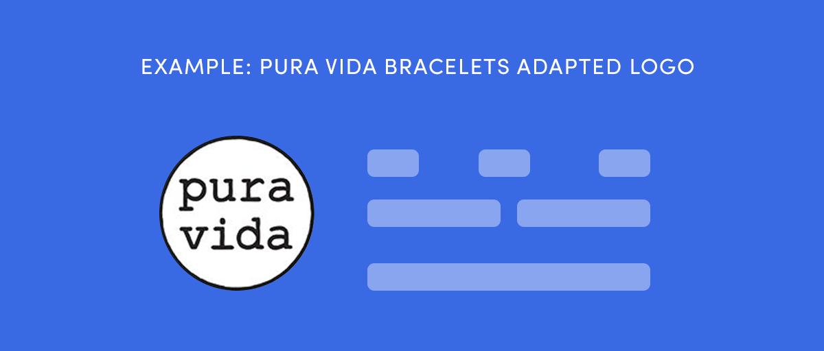 Pura Vida Bracelets adapted their logo for Instagram