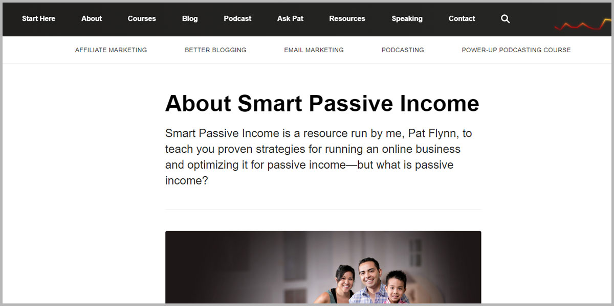 SmartPassiveIncome blogs about how to create an online business