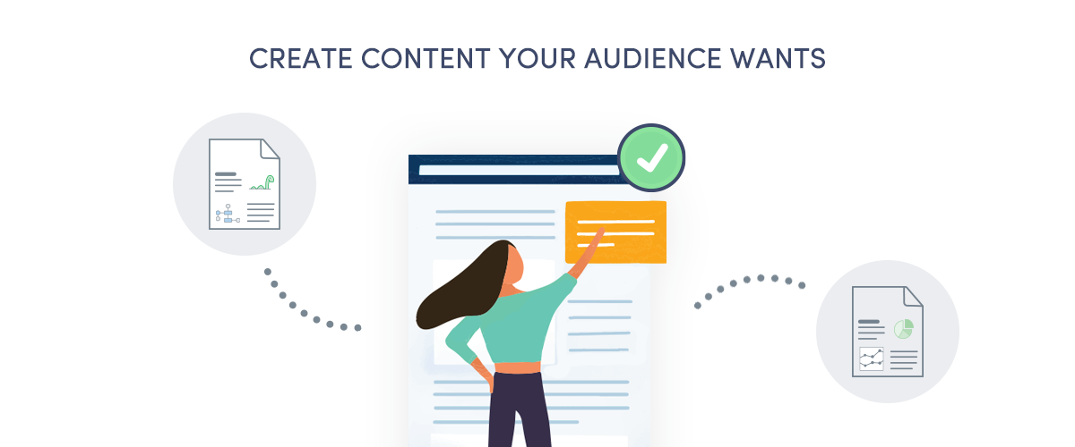 The first step to writing killer blog posts is creating content your audience wants