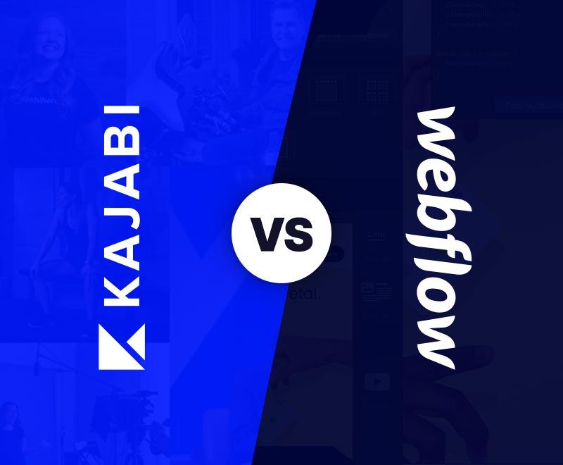 Kajabi VS Webflow (Building Websites)