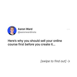 Sell Your Online Course Before You Create It