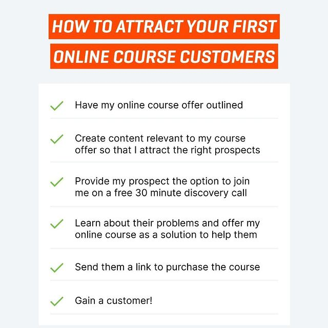 Attract First Course Customers