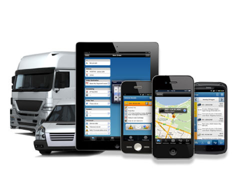 vehicle fleet tracking app
