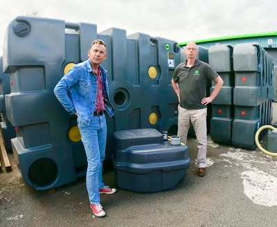 How to push effluent waste uphill