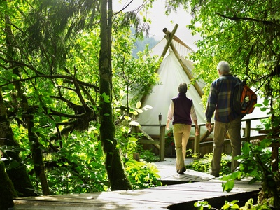 Waste Sanitation Solutions for Glamping Sites