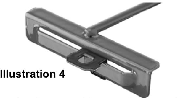 illustration 4 depicting h frame installation
