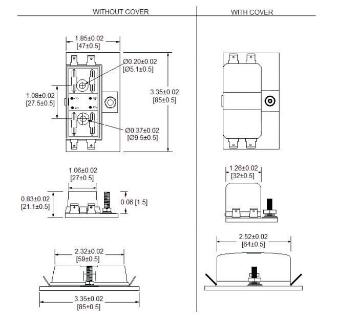 LED 4-Pole Mini Fuse Block