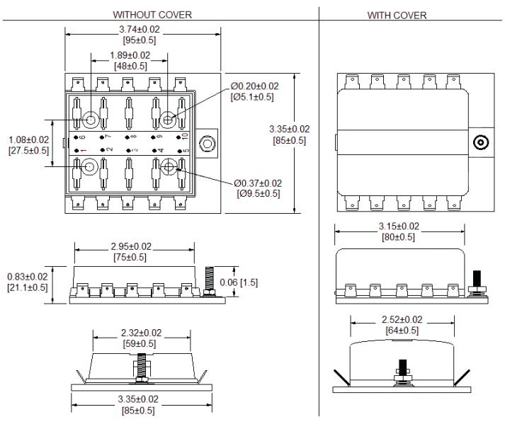 LED 10-Pole Mini Fuse Block