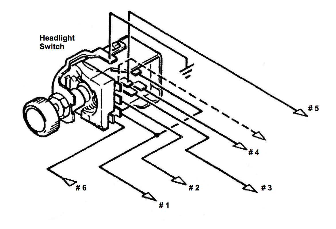 11110  installation instructions for gm style headlight switch