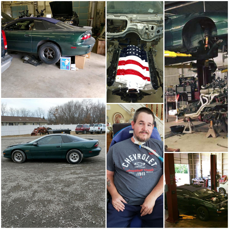 Ryan and his Camaro Z28