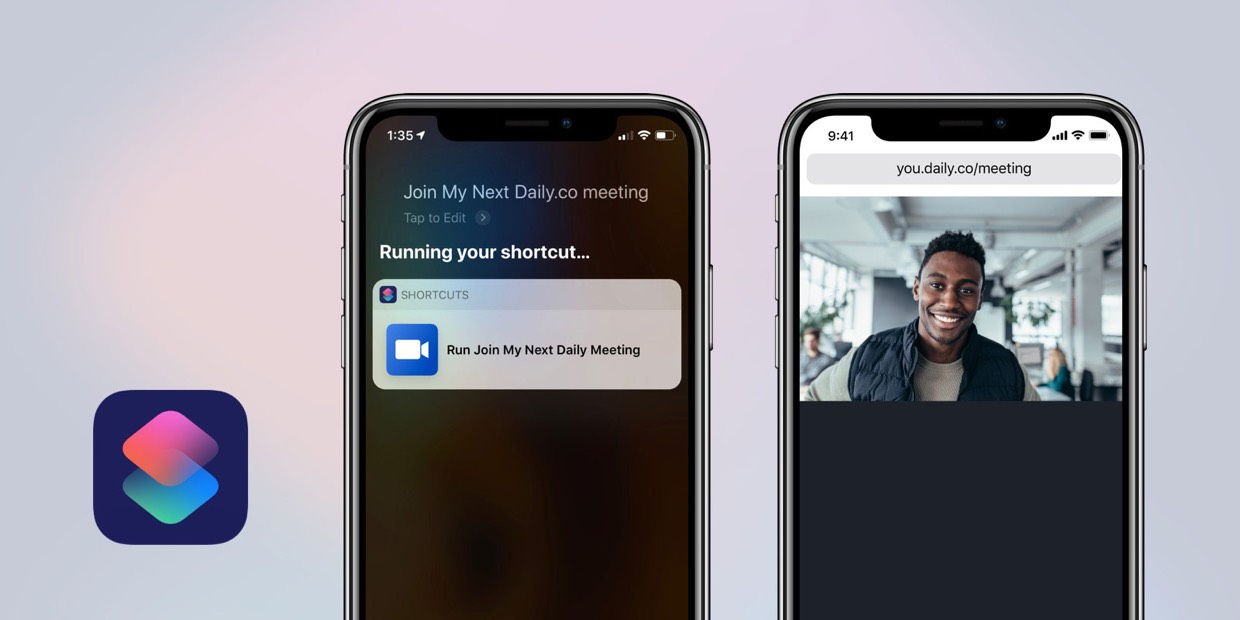 Joining video calls with Siri Shortcuts