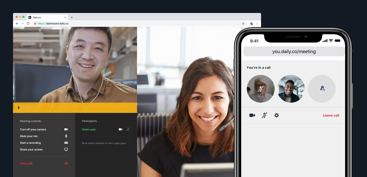 What to consider when customizing UI with our video call API