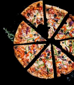 A Split Pizza