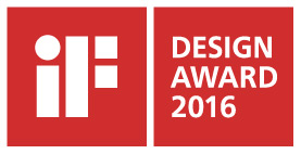 iF Design Award Winner 2016 Logo
