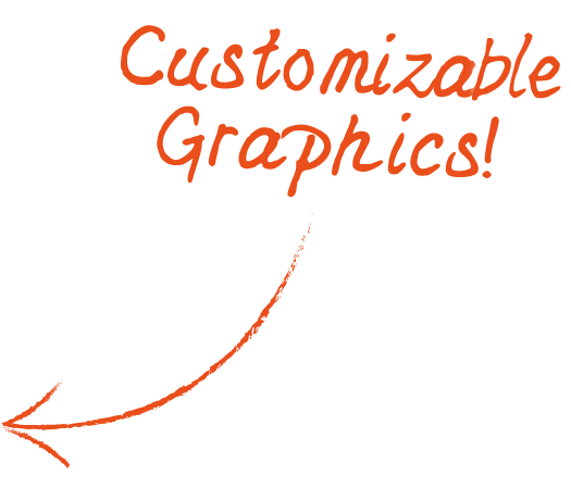 Customizable Graphics Arrow