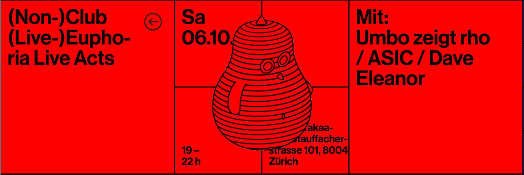 (Non-)Club, (Live-)Euphoria @ 20 Jahre Kulturbüro