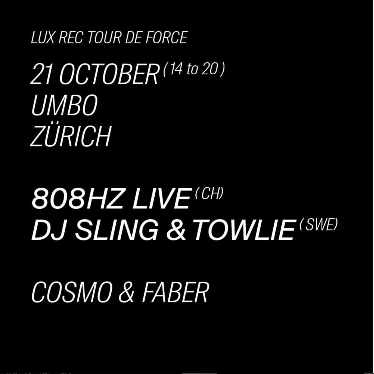 Lux Rec Tour de Force