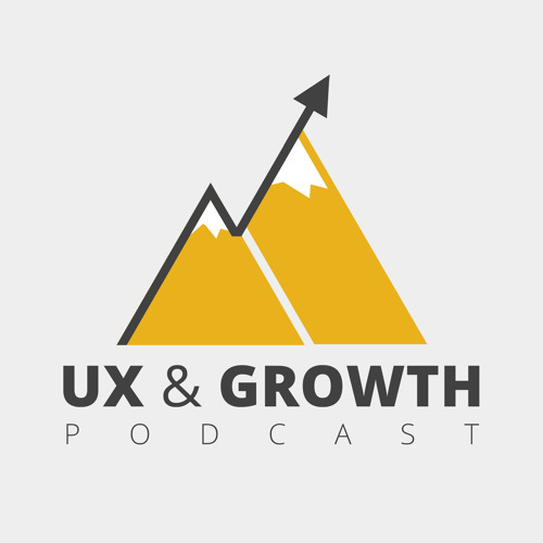 UX & Growth podcast album cover