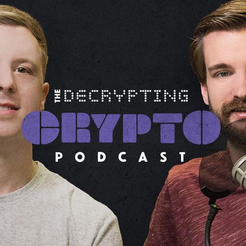 Decrypting Crypto podcast album cover