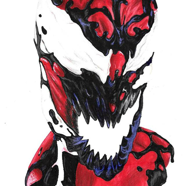 Comic Villain Drawing